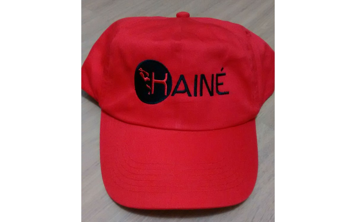 Embroidered Baseball Caps supplied to Kainé Management