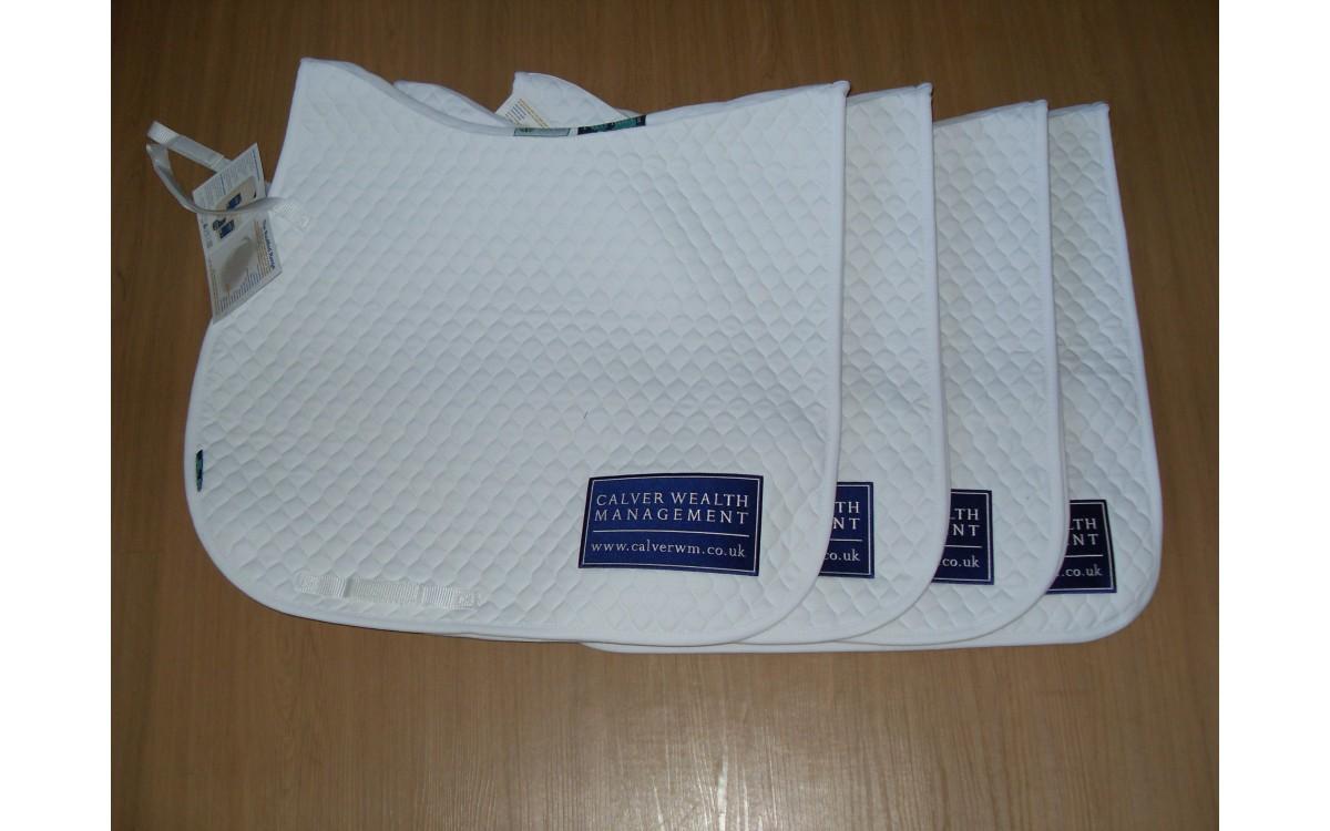 Embroidered Saddle Blankets for Calver Wealth Management