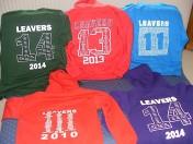 Leaver's hoodies