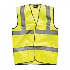 Dickies Hi Vis Safety Waistcoat