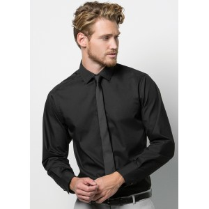 Kustom Kit Long Sleeved Tailored Shirt
