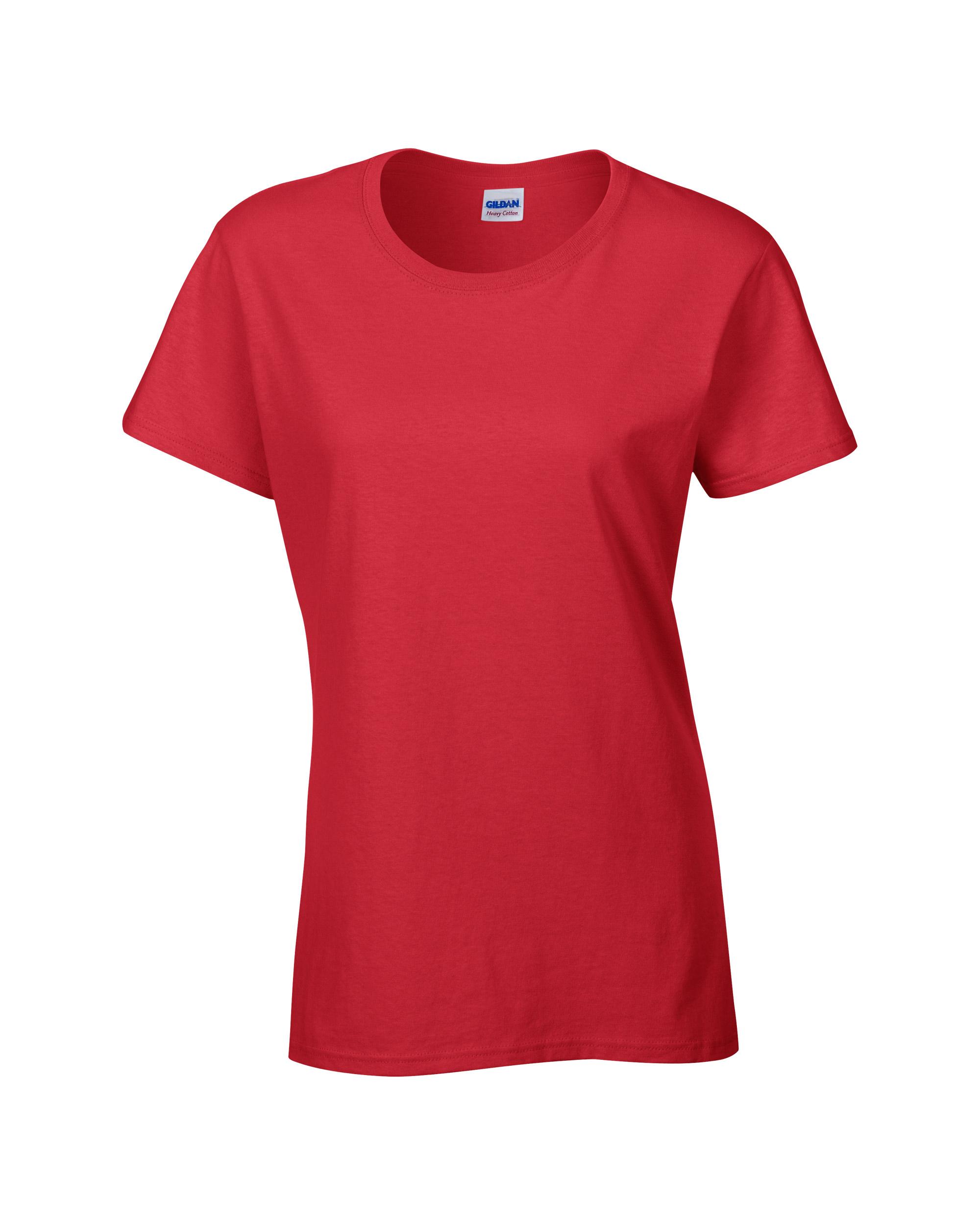 Gildan GD006 Ladies 100/% Heavy Cotton T-Shirt Top Sizes S-2XL
