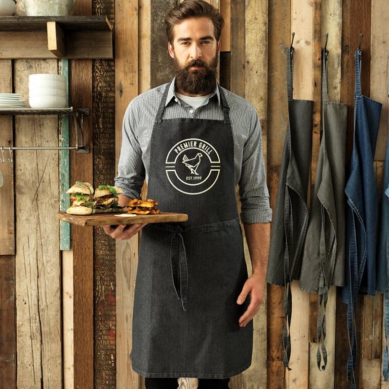 Premier apron with bib, no pocket